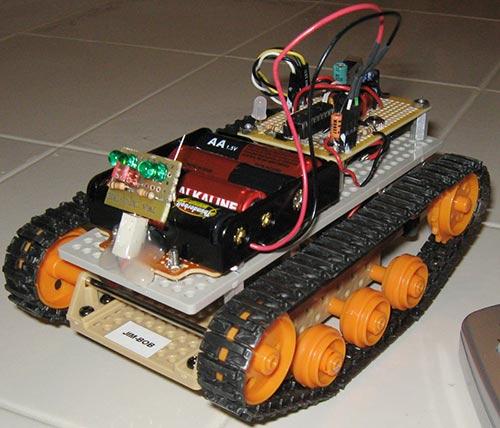 Как сделать радиоуправляемого робота своими руками
