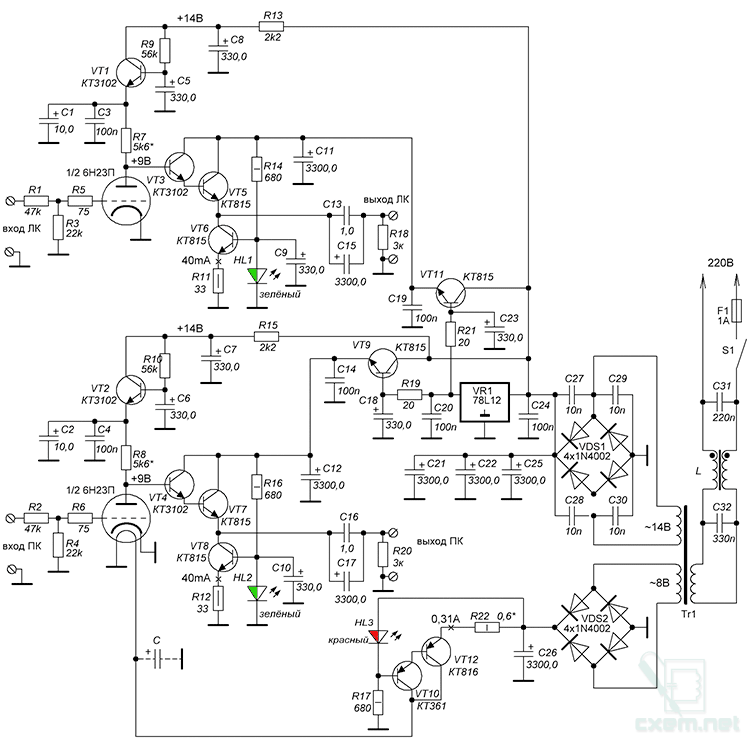 Гапоненко лампово-транзисторные усилители своими руками скачать