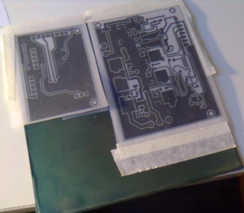 Изготовление печатных плат с фоторезистом в домашних условиях