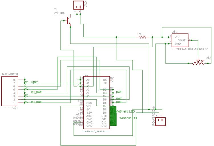 Can shield схема подключения